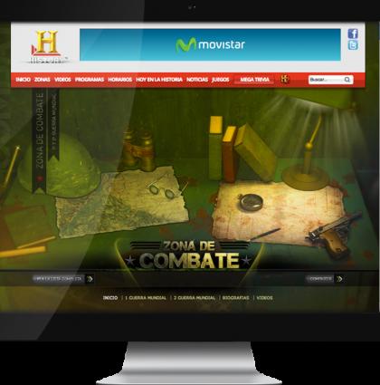 Website: Zona de combate